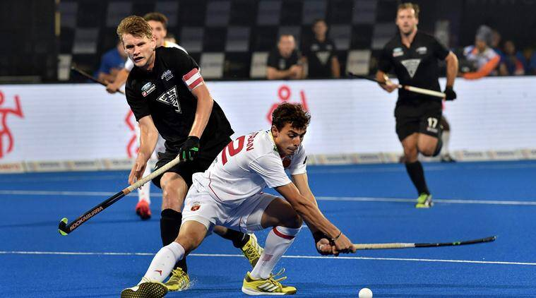 Hockey World Cup: New Zealand hold Spain to 2-2 draw, qualify for cross-overs