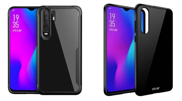 Huawei P30 Pro Case Renders Reveal Quad Rear Cameras, Smaller Notch