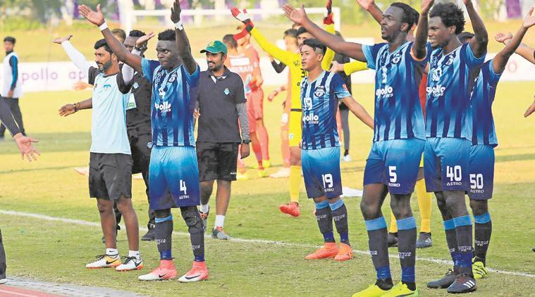 I-League: Solitary goal by Nigerian forward takes Minerva Punjab FC to 1-0 victory over Indian Arrows