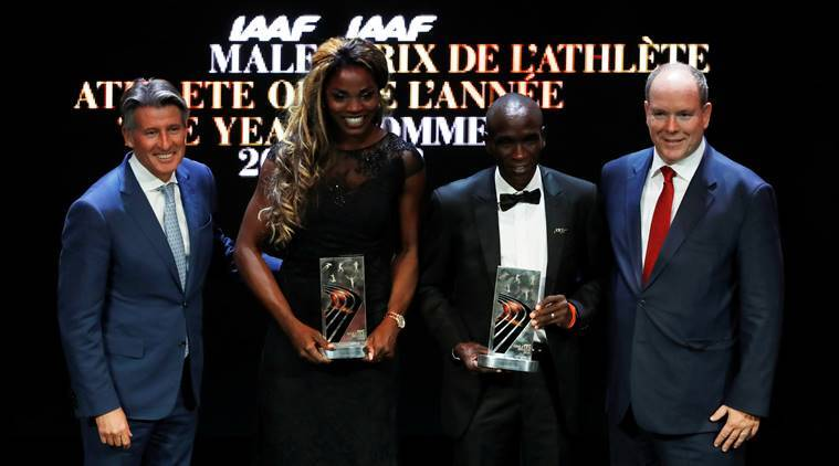 Eliud Kipchoge and Caterine Ibarguen named IAAF athletes of the year