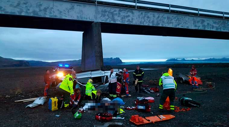 Three British Tourists Killed After Car Plunges Off Bridge In Iceland