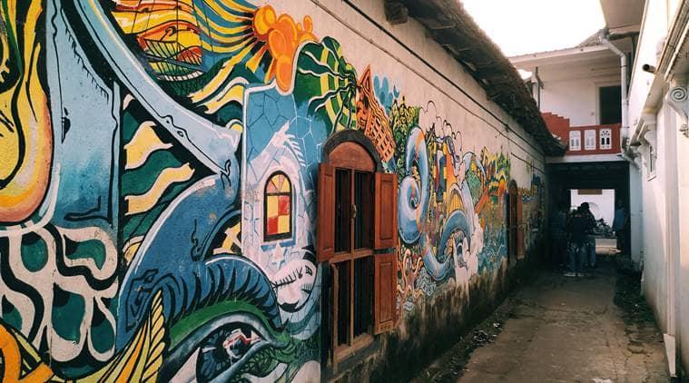Victoria AM, Kochi-Muziris Biennale, Kochi-Muziris Biennale 2018 underway in kerala, exhibition of contemporary art, local artists in Kochi-Muziris Biennale 2018, local women artist in Kochi-Muziris Biennale 2018, women artists, local artists, indian express, indian express news