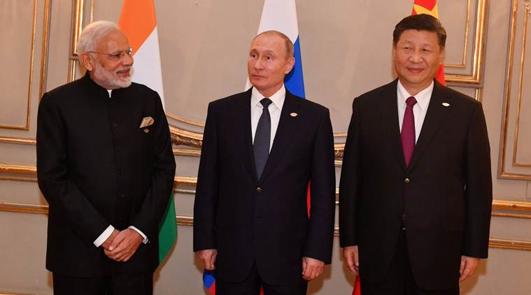 PM Modi, Prime Minister Modi, Donald Trump, G-20 summit, trilateral meeting, US, Russia, China, Japan, India's 9-point programme, Argentina, Buenos Aires, world news, indian express news