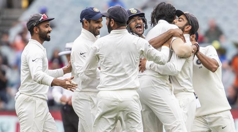 Image result for india vs australia test match