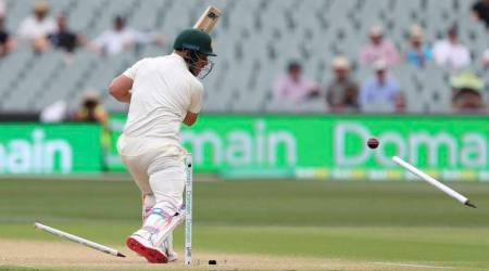 India vs Australia Live Score 1st Test Day 2