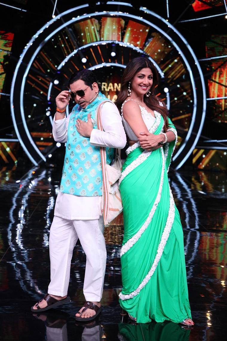 shilpa shetty paritosh tripathi indian idol 10