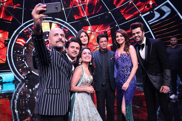indian idol 10 finale zero actors shah rukh khan