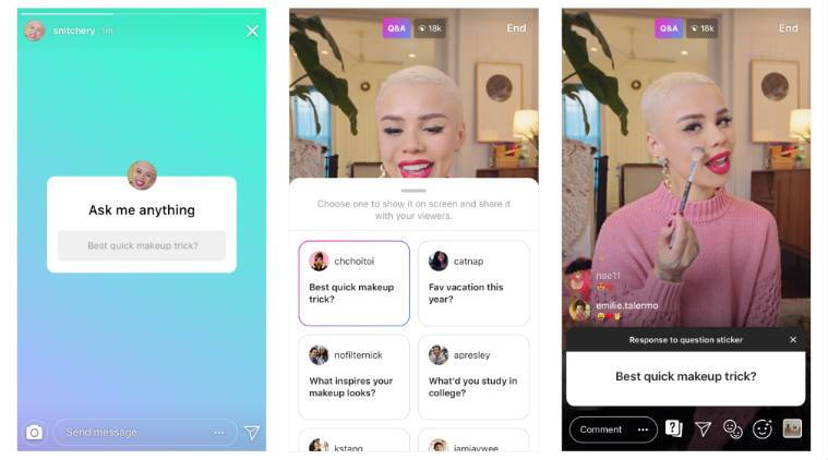 Instagram Q&A Stories, Q&A on Instagram Stories, latest Instagram features, Instagram Questions sticker, music suggestions Instagram, new Stories features, Instagram countdown sticker, Instagram Stories stickers, countdown timer Instagram, new Instagram Stories features, Instagram