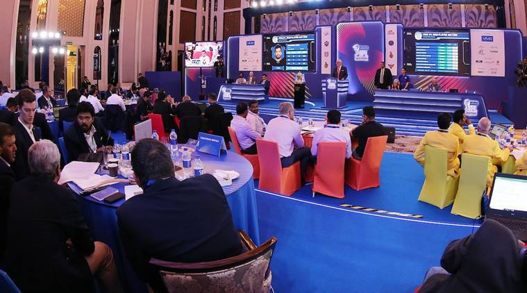 ipl 2019 auction live