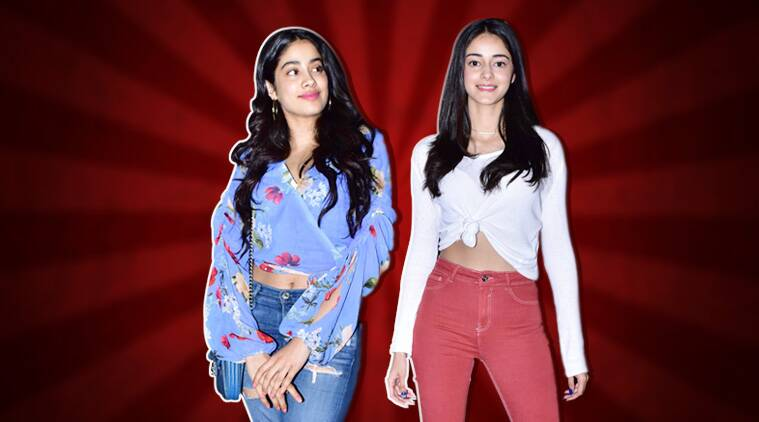 Janhvi Kapoor or Ananya Pandey: Who nailed the jeans-crop top combo better?