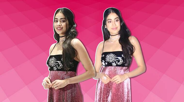 Janhvi Kapoor commits a rare fashion faux pas in this Reem Acra dress