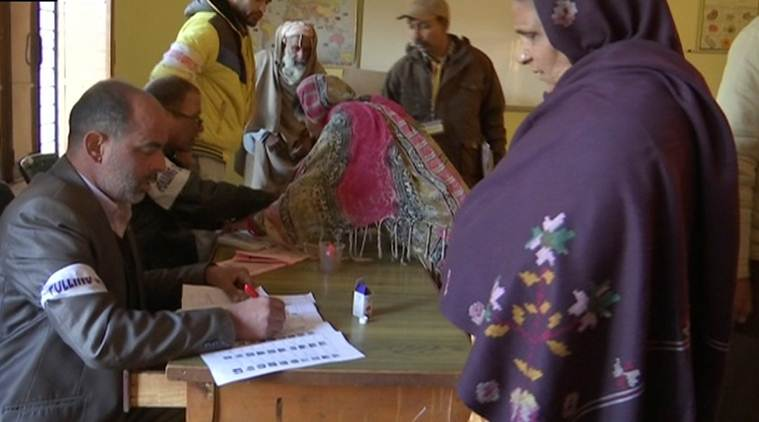 J-K: Voting for 8th phase of panchayat polls underway