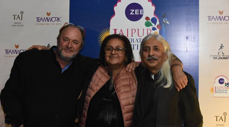 jaipur literarure festival 2019, Zee jaipur literature festival 2019, JLF curtain raiser event delhi 2018, speakers at JLF, science writers at JLF 2019, women panelist at JLF 2019, william dalrymple, namita gokhale, yann martel, neil gaiman, election commission, former election commissioner, indian express, indian express news