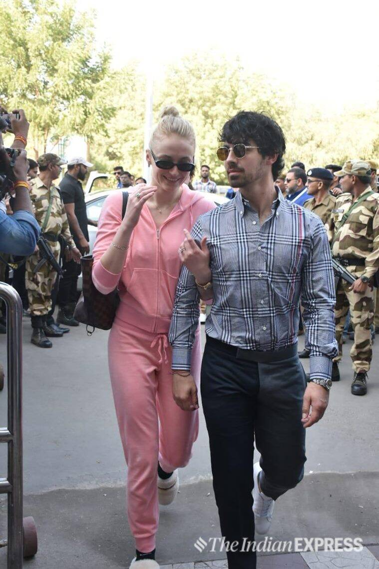 joe jonas and sophie turner photos in india