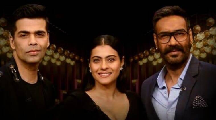 koffee with karan with kajol and ajay devgn