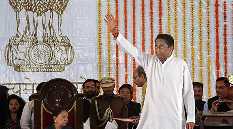 Kamal Nath took oath as Madhya Pradesh Chief Minister on Monday. (Photo credit: PTI)