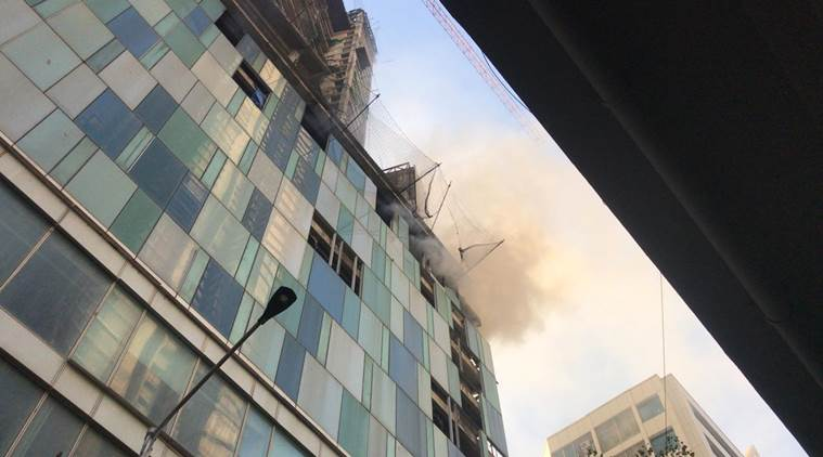 fire near kamala mills, kamala mills, fire at under construction building, mumbai fire, fire in mumbai
