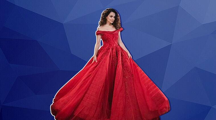 Kangana Ranaut sizzles on the ramp in this dreamy red gown