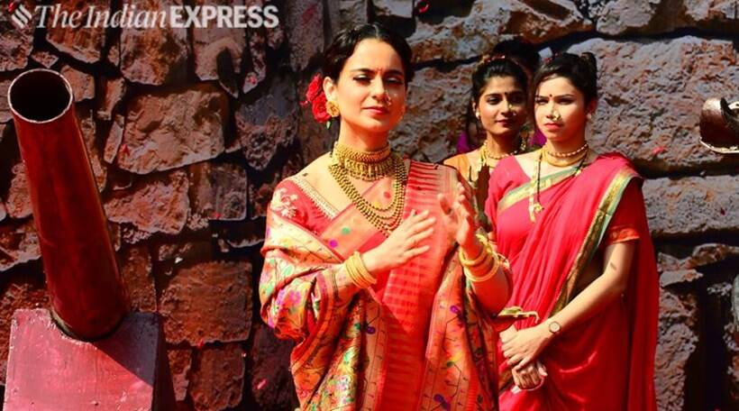 Kangana Ranaut evokes patriotic fervour as fierce warrior queen Rani Laxmibai
