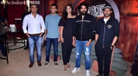 Kannada film KGF's Hindi trailer launch