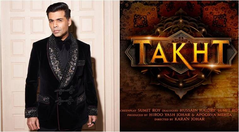 Karan Johar spills the beans on upcoming film 'Takht'