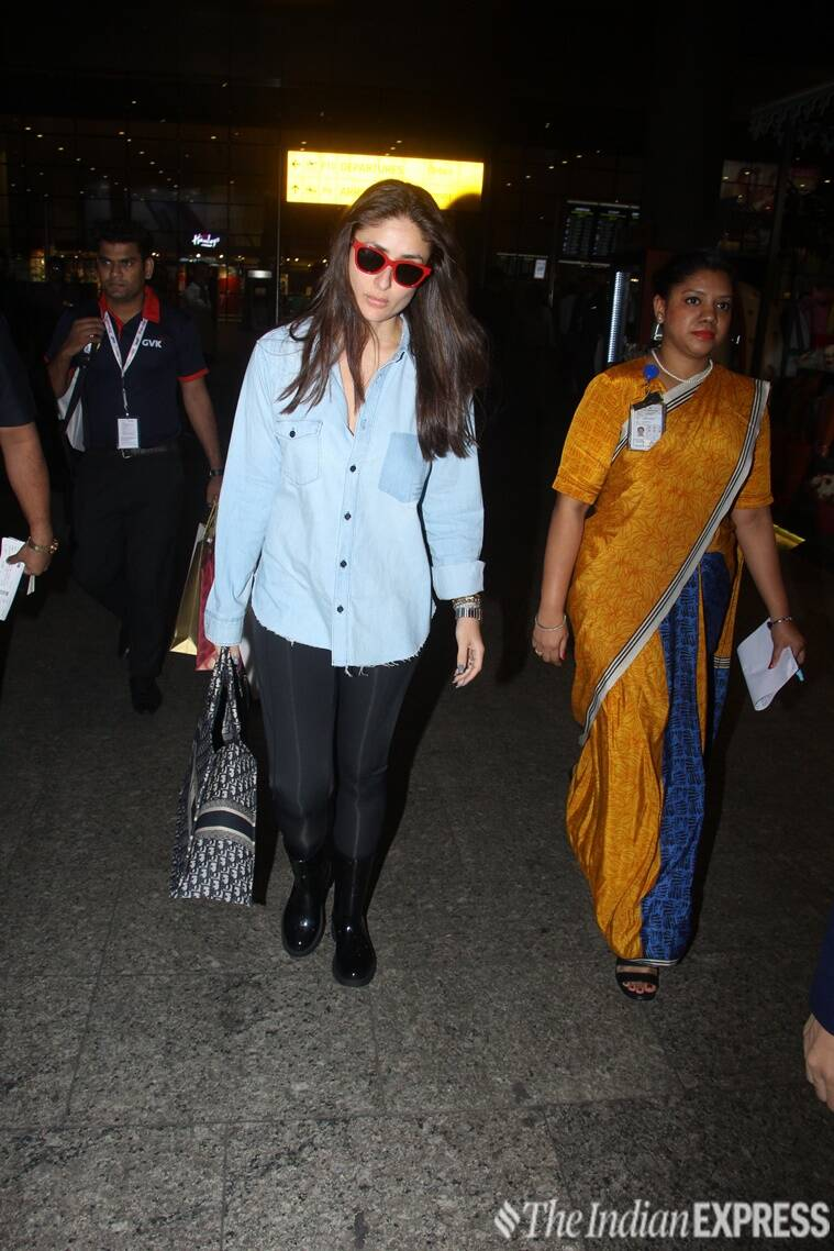 Kangana Ranaut, Kareena Kapoor Khan, Anushka Sharma, Parineeti Chopra, Kiara Advani, Kangana Ranaut airport fashion, Kareena Kapoor Khan airport fashion, Anushka Sharma airport fashion, Parineeti Chopra airport fashion, Kiara Advani airport fashion, celeb fashion, bollywood fashion, airport fashion bollywood, latest airport fashion, indian express, indian express news