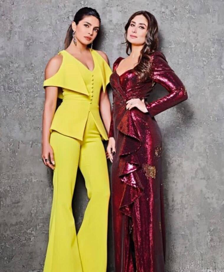 kareena, priyanka karan johar show