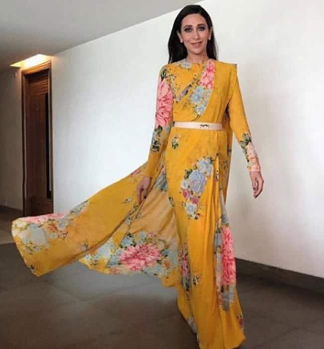 Sabyasachi, Karisma Kapoor, Karisma Kapoor fashion, Karisma Kapoor style, Karisma Kapoor photos, celeb fashion, bollywood fashion, indian express, indian express news