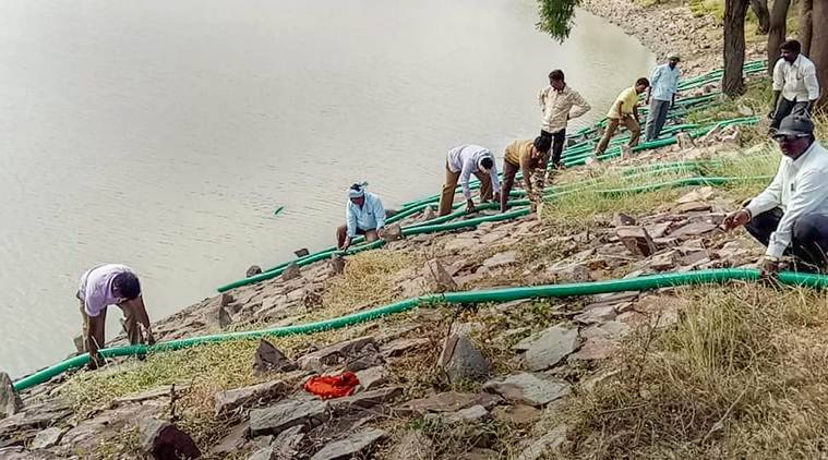 Lake in Karnataka drained after discovery of HIV-infected body