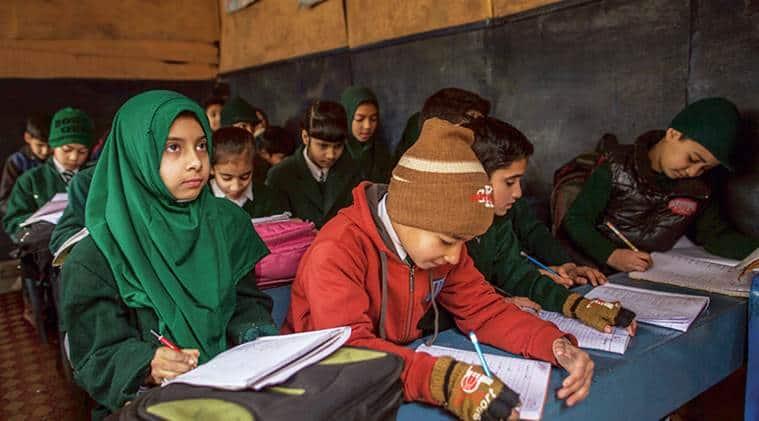 J-K schools, J-K summer zone school, Jammu school, winter vacation, J-K school winter vacation