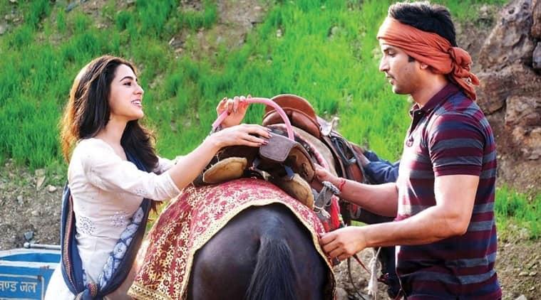 sushant sara in kedarnath