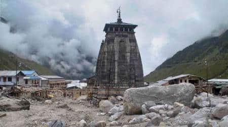 kedarnath temple reopens, prime minister narendra modi, india lockdown, temples india lockdown, coronavirus temples india, coronavirus news, indian express news