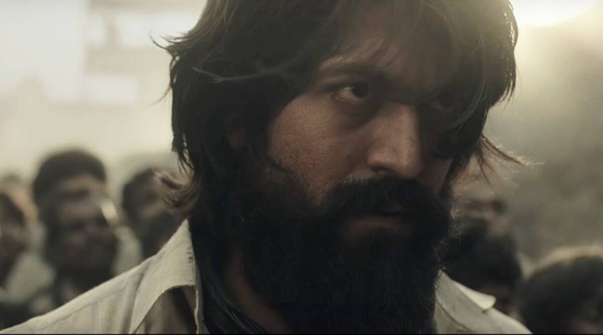 Kgf Review The Movie Is Just A Star Vehicle Entertainment News The Indian Express
