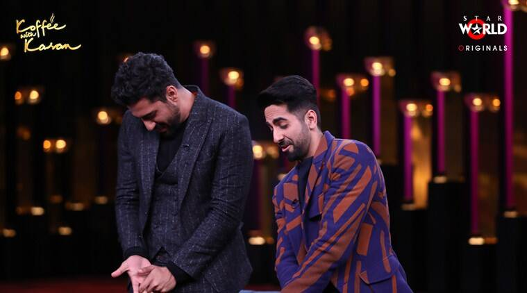 Koffee With Karan season 6 vicky kaushal and ayushmann khurrana