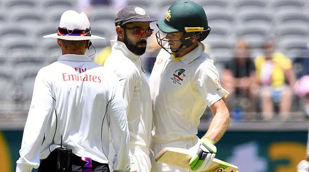 Test Of Character Tim Paine Narrates Battle Of Sledges With Virat Kohli Sports News The Indian Express