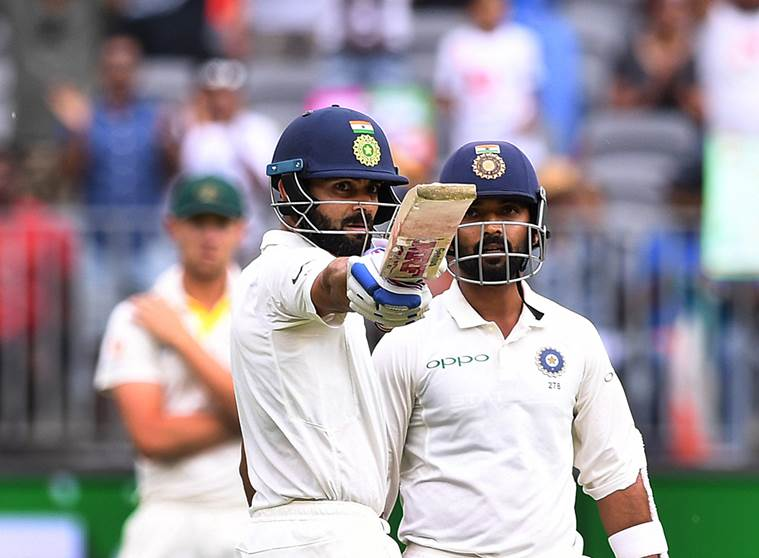 India vs Australia 2nd Test, Day 2: Virat Kohli, Ajinkya Rahane land India's counterpunch in Perth