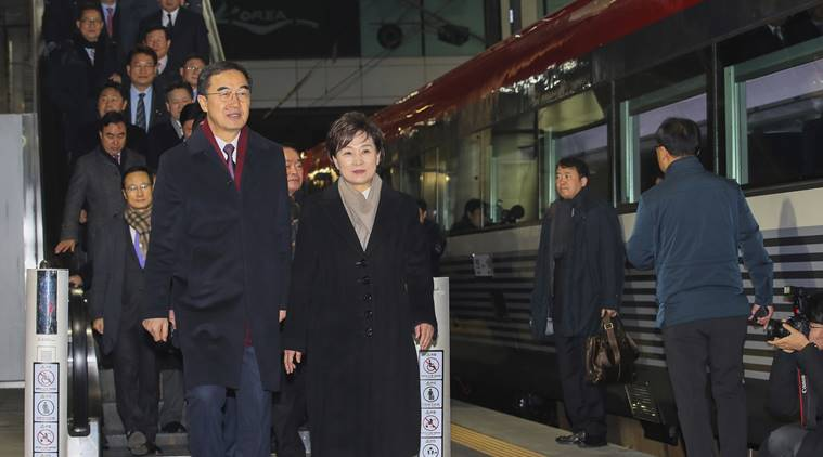 railway projects in Korea, North Korea, South Korea, Kim Jong Un, Moon Jae-in, World news, Indian Express