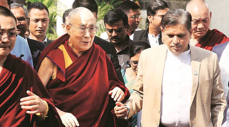 Dalai Lama, Tibetan spiritual leader, tibetan leader, secular India, Mumbai news, Indian Express