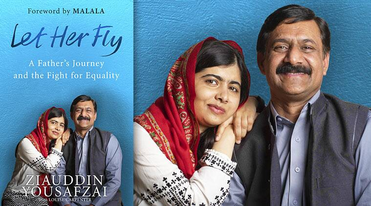 Ziauddin Yousafzai and daughter Malala