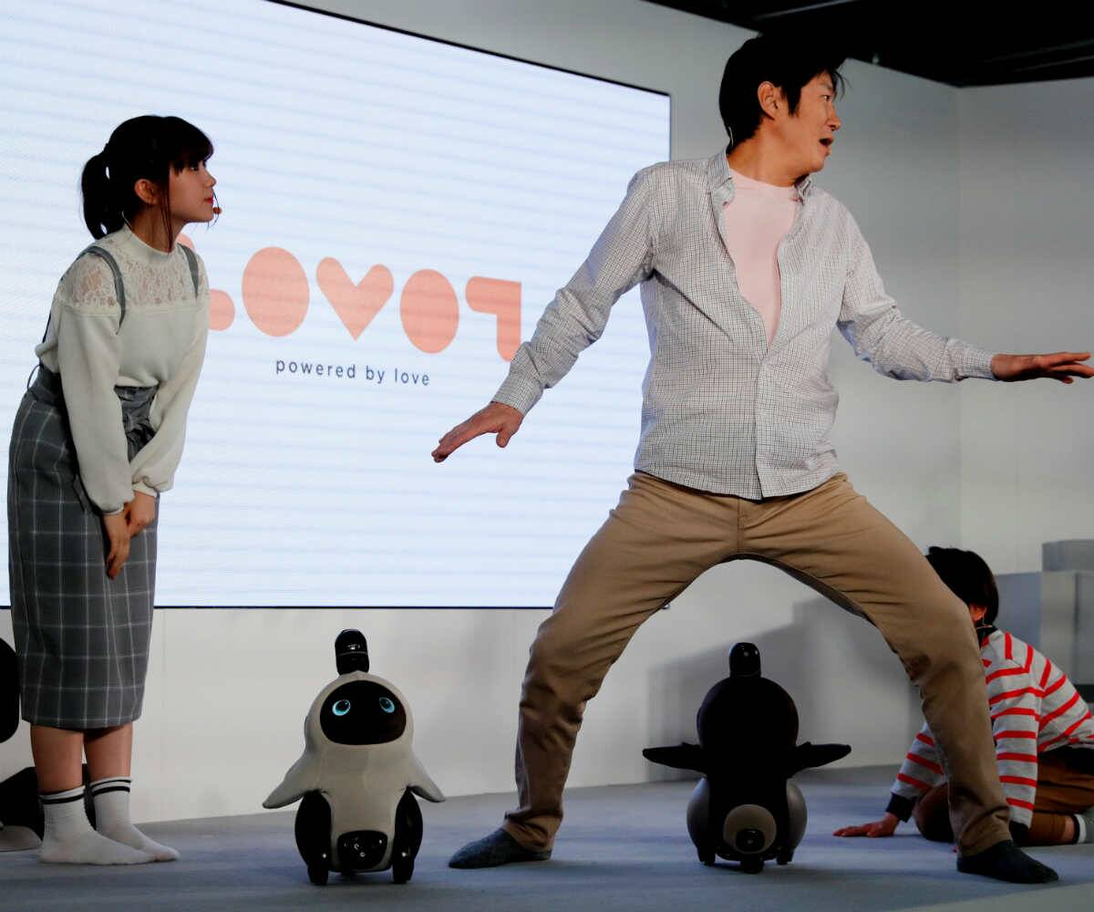 SoftBank alum unveils 'affectionate' companion robot in