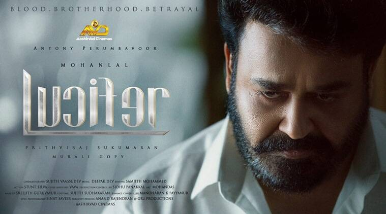 The Teaser Of Mohanlal's Lucifer Is Intense