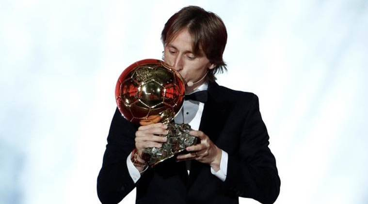 Ballon d'Or: Luka Modric ends dominance of Lionel Messi and Cristiano Ronaldo