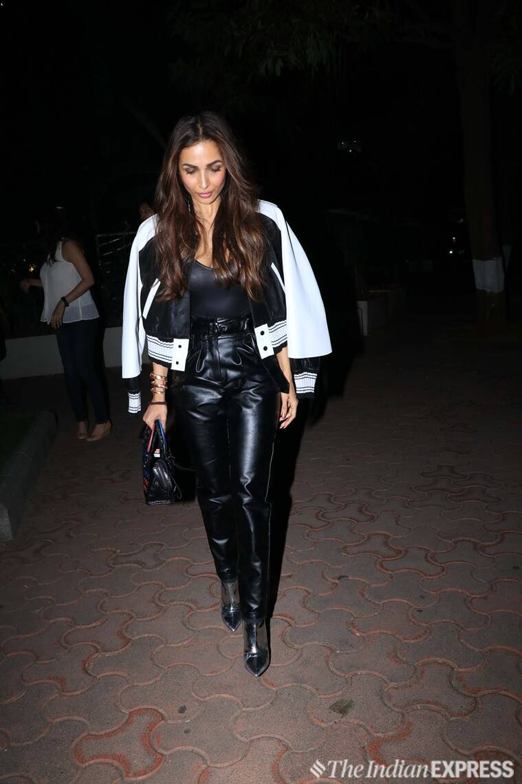 malaika arora, malaika arora leather outfits, malaika arora fashion, malaika arora latest news, malaika arora latest pics, malaika arora updates, celeb fashion, bollywood fashion, indian express, indian express news
