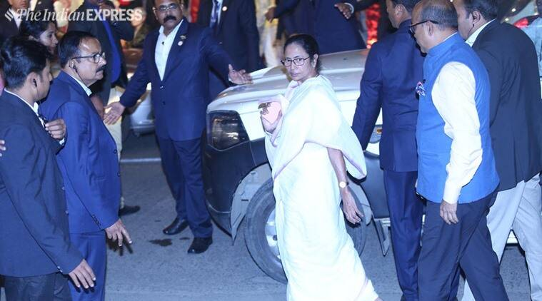 Mamata Banerjee at isha ambani's wedding