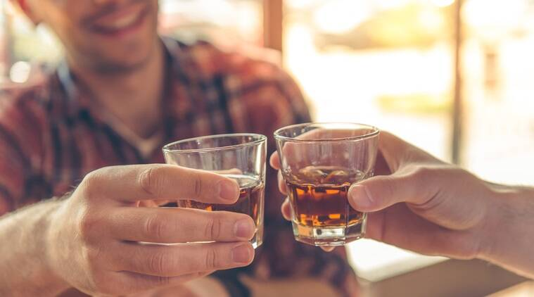 drinking, benefits of drinking, alcohol, effect of alcohol, benefits of drinking, health benefits of drinking, advantages of drinking, heart failure and drinking, indian express, indian express news
