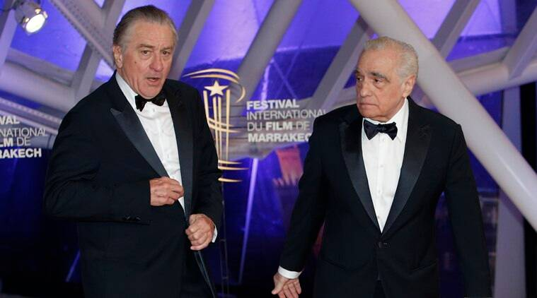 martin scorsese and robert de niro film the irishman