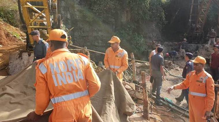 Meghalaya mine collapse