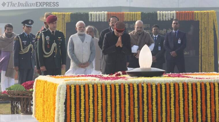 Vajpayee memorial inaugurated; Kovind, Modi offer floral tributes
