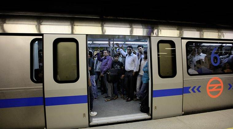 Second day in a row, Delhi metro's blue line snag leaves commuters stranded