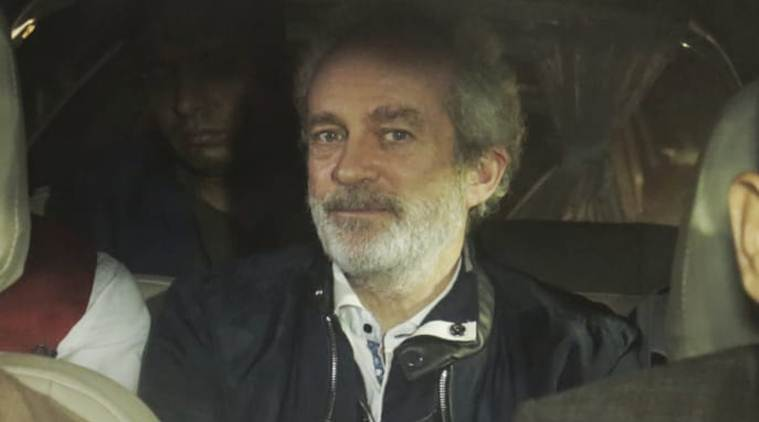 British national Christian Michel James filed a fresh bail plea on Monday.